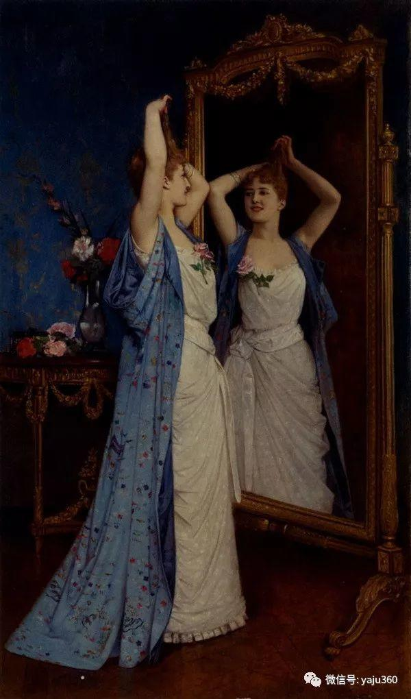 人物油画 法国Auguste Toulmouche插图19