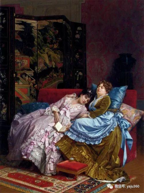 人物油画 法国Auguste Toulmouche插图23