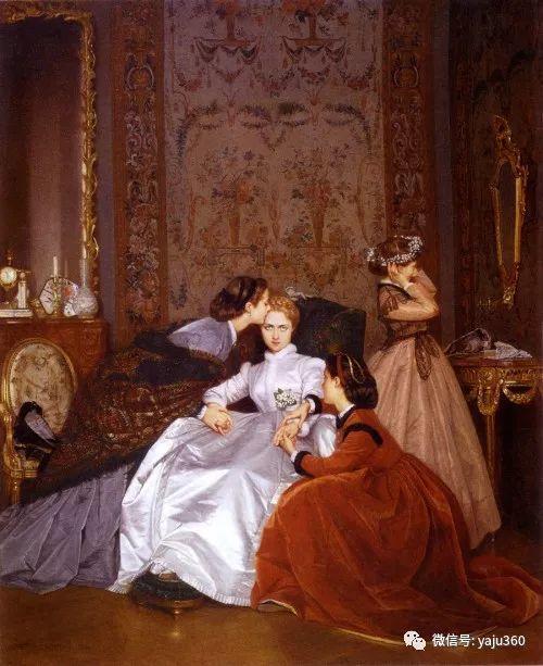 人物油画 法国Auguste Toulmouche插图25