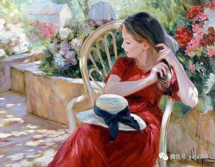 俄罗斯Vladimir Volegov油画欣赏2插图1