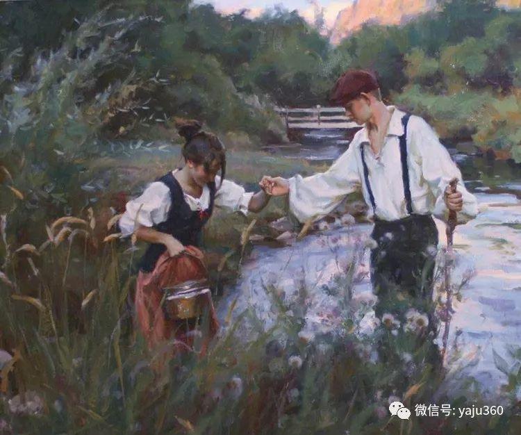 美国Michael Malm油画欣赏2插图1