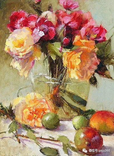 美国Ann Hardr油画静物欣赏插图31