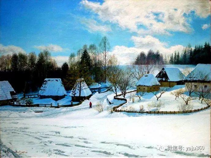 风景画 俄罗斯Alexander V Orlov插图