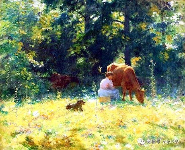 美国Charles Courtnes Curran油画欣赏插图7