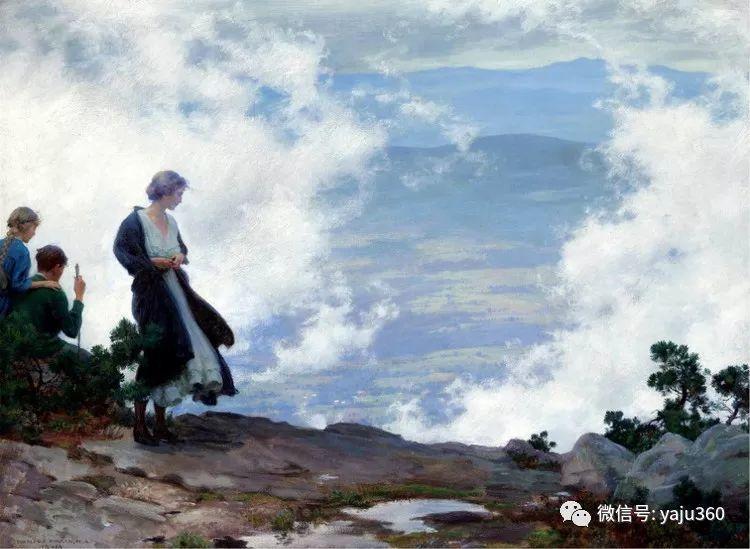 美国Charles Courtnes Curran油画欣赏插图9