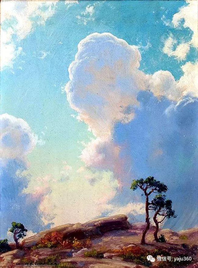 美国Charles Courtnes Curran油画欣赏插图15