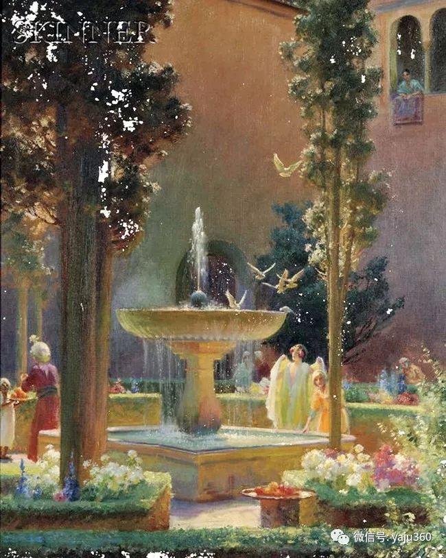 美国Charles Courtnes Curran油画欣赏插图17