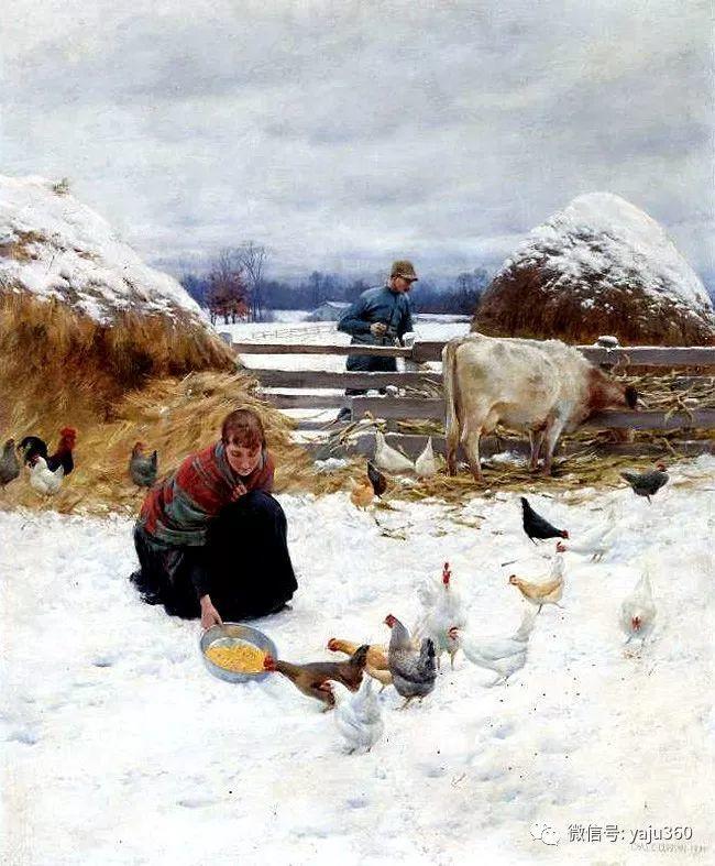 美国Charles Courtnes Curran油画欣赏插图19