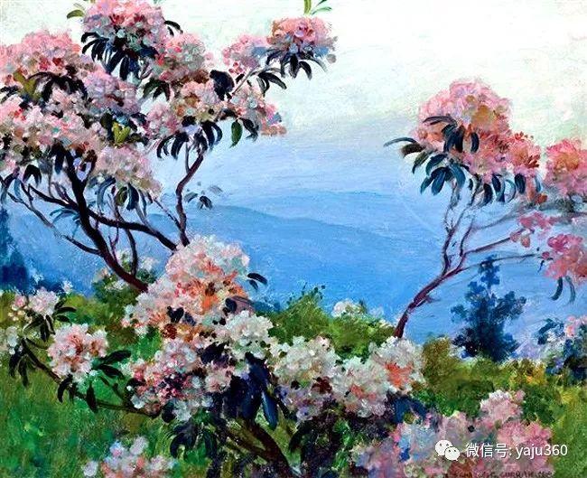 美国Charles Courtnes Curran油画欣赏插图21
