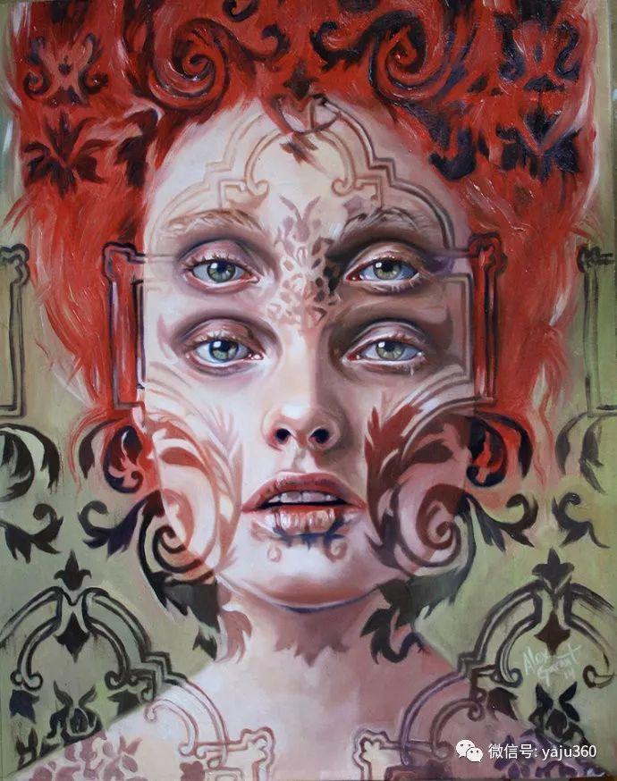 多彩重叠的肖像 Alex Garant插图5