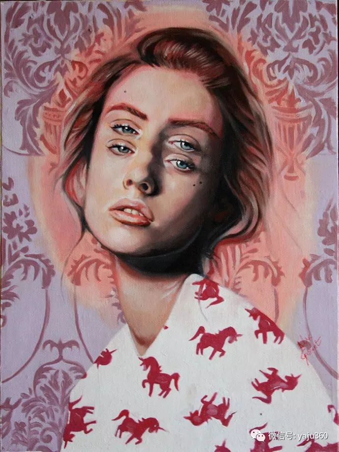 多彩重叠的肖像 Alex Garant插图7