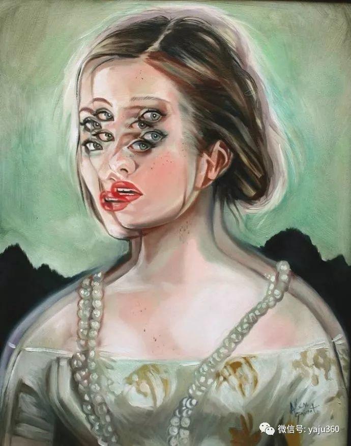 多彩重叠的肖像 Alex Garant插图11
