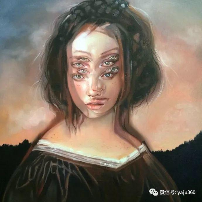 多彩重叠的肖像 Alex Garant插图13