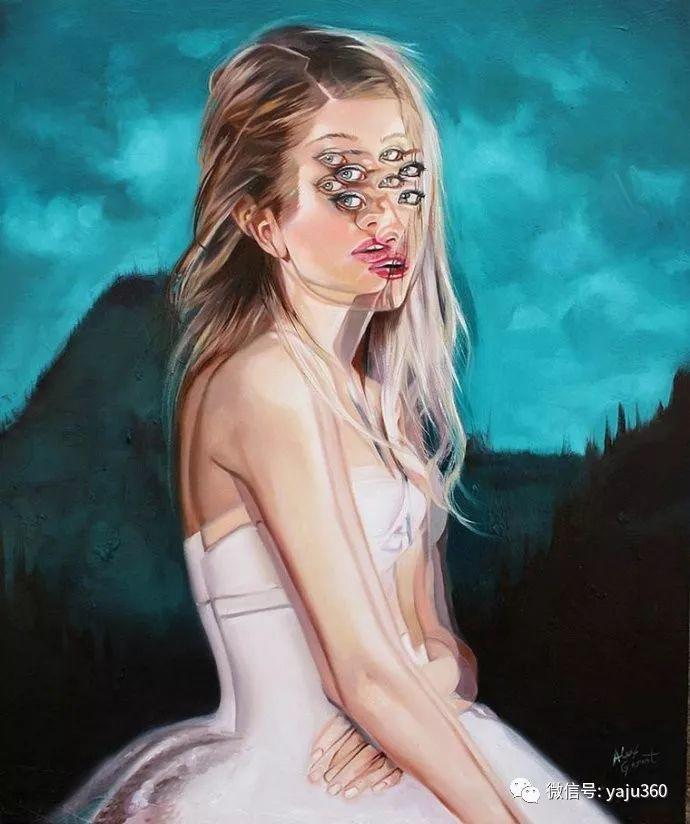 多彩重叠的肖像 Alex Garant插图15