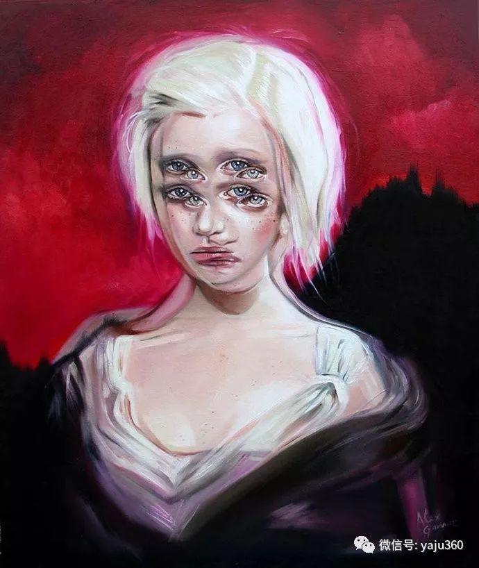 多彩重叠的肖像 Alex Garant插图17