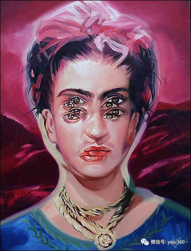 多彩重叠的肖像 Alex Garant插图19