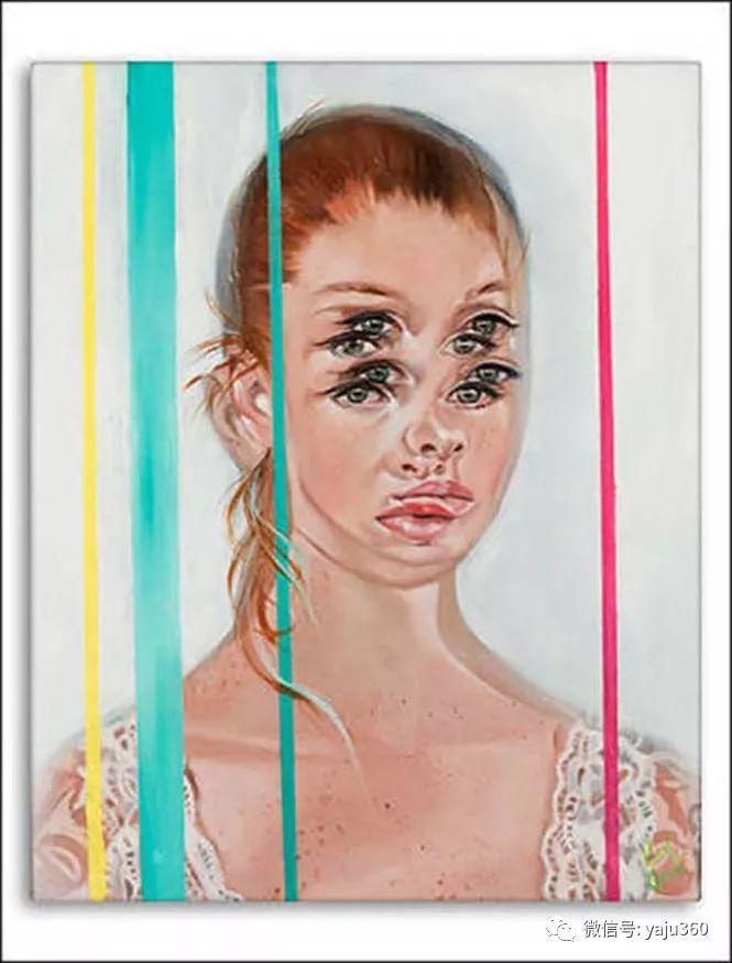 多彩重叠的肖像 Alex Garant插图21