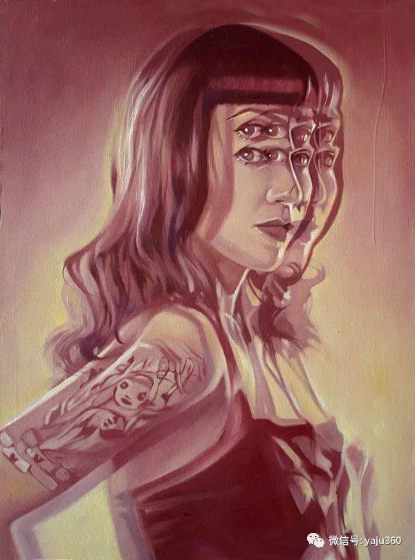 多彩重叠的肖像 Alex Garant插图23