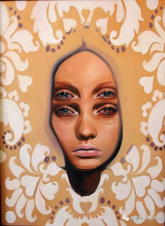 多彩重叠的肖像 Alex Garant插图27