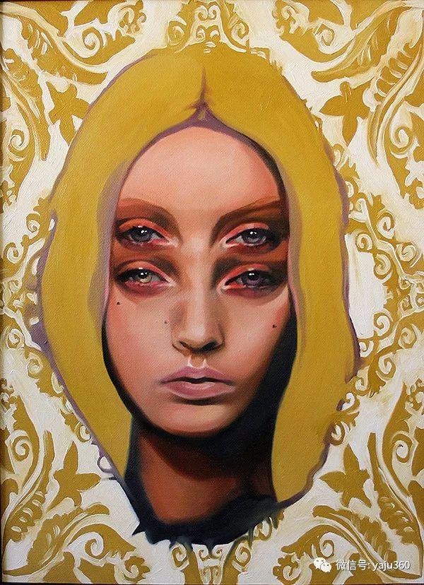 多彩重叠的肖像 Alex Garant插图29