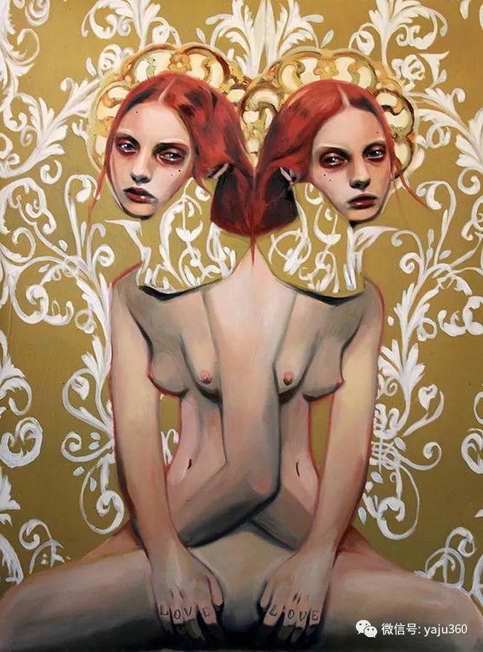 多彩重叠的肖像 Alex Garant插图33