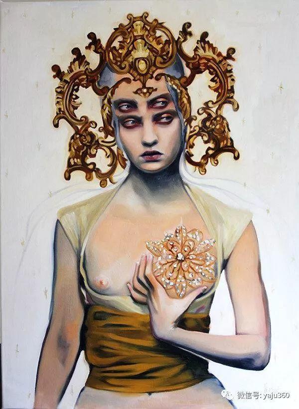 多彩重叠的肖像 Alex Garant插图35