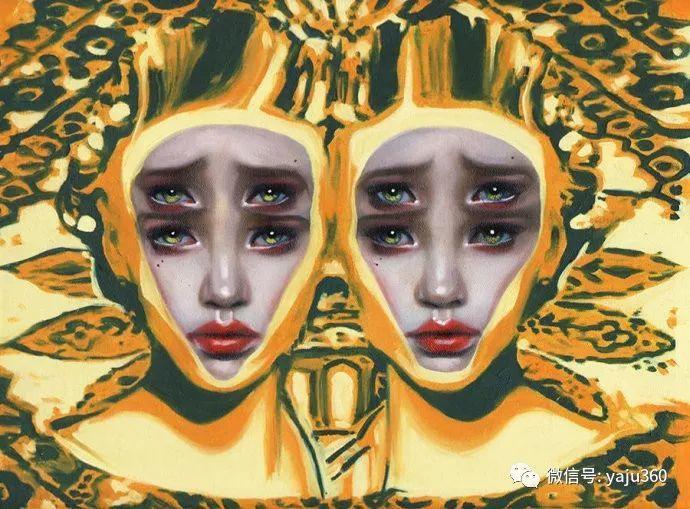 多彩重叠的肖像 Alex Garant插图37