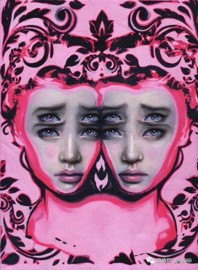 多彩重叠的肖像 Alex Garant插图41