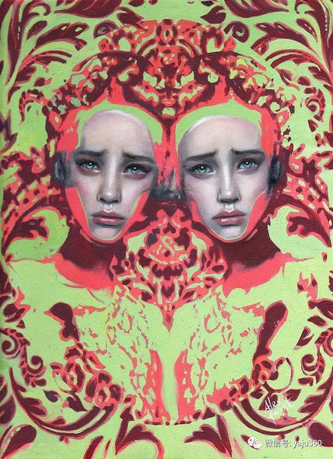 多彩重叠的肖像 Alex Garant插图49