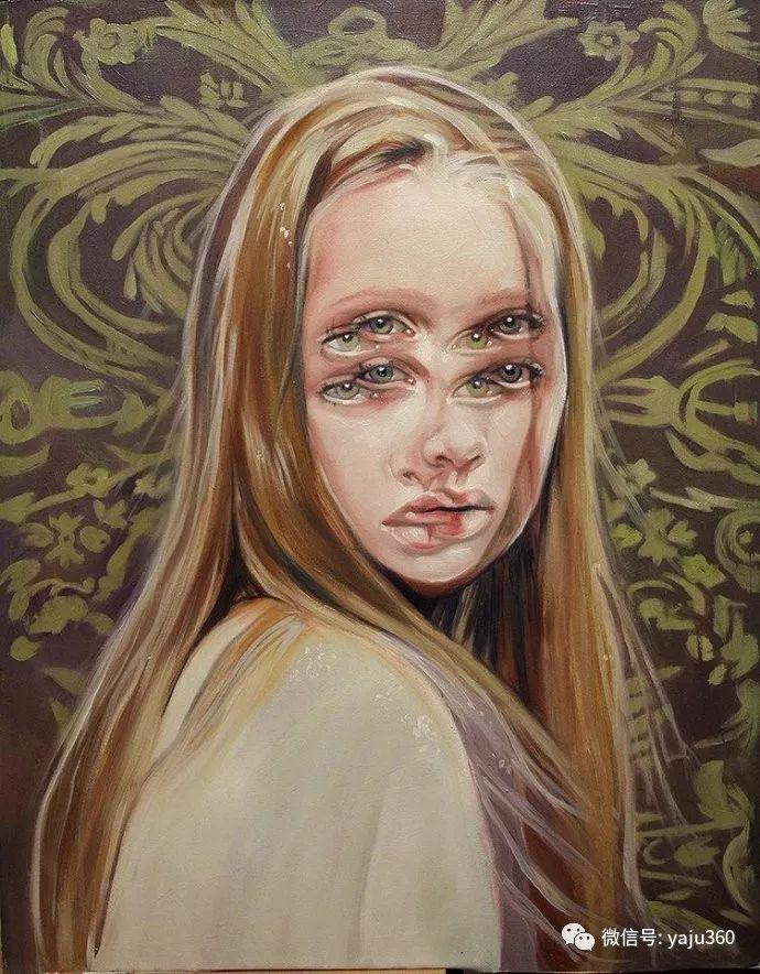 多彩重叠的肖像 Alex Garant插图53