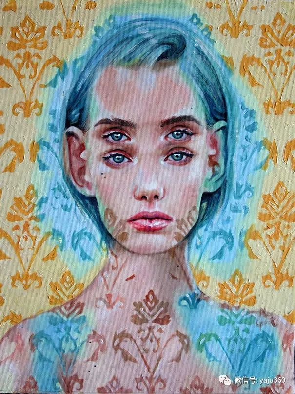 多彩重叠的肖像 Alex Garant插图55