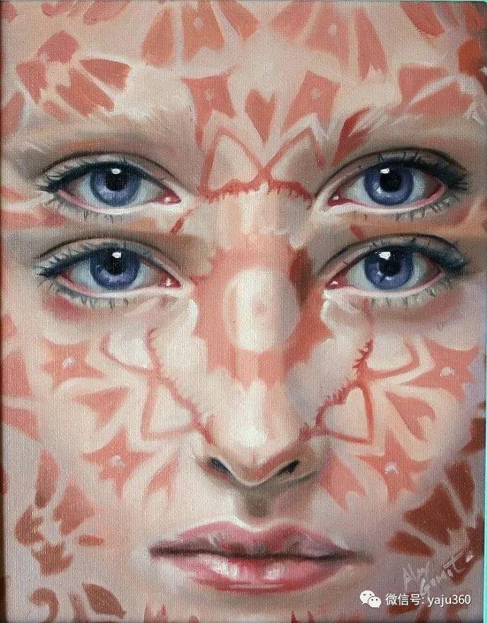 多彩重叠的肖像 Alex Garant插图57