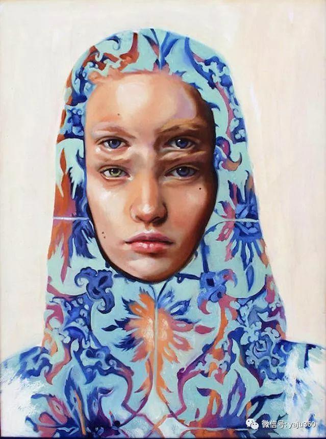 多彩重叠的肖像 Alex Garant插图59