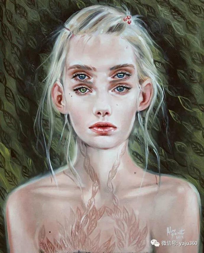 多彩重叠的肖像 Alex Garant插图61