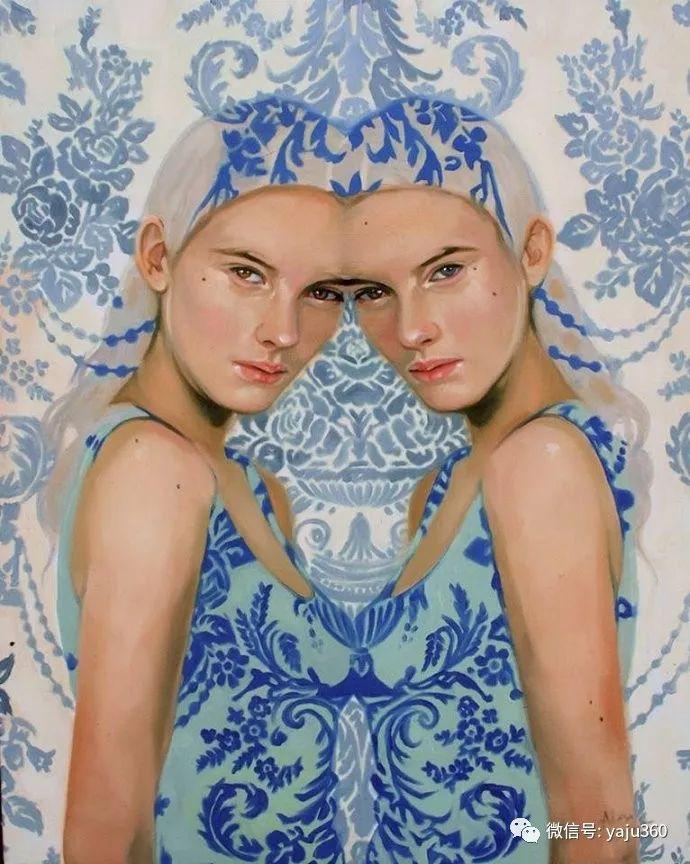 多彩重叠的肖像 Alex Garant插图63
