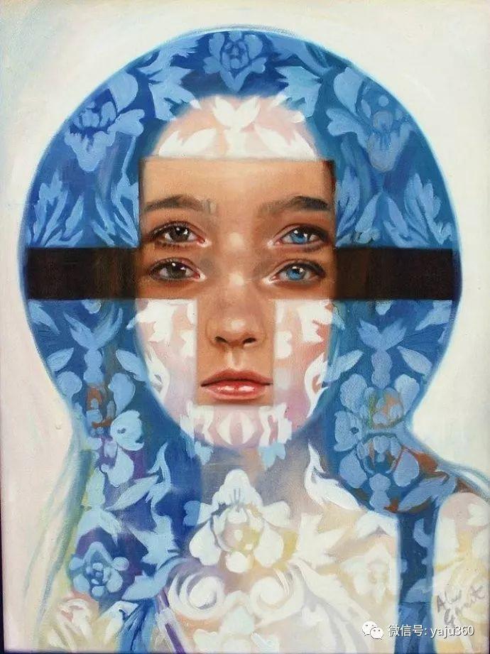 多彩重叠的肖像 Alex Garant插图65