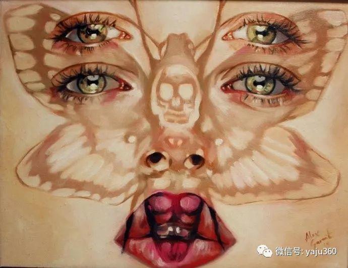 多彩重叠的肖像 Alex Garant插图69