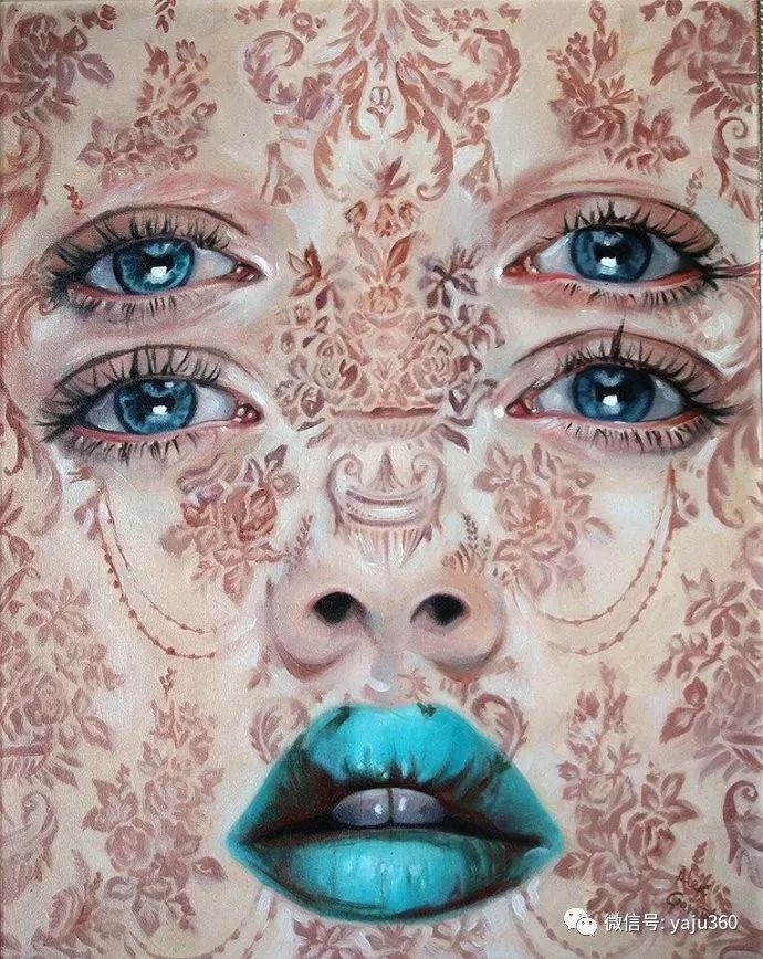 多彩重叠的肖像 Alex Garant插图71