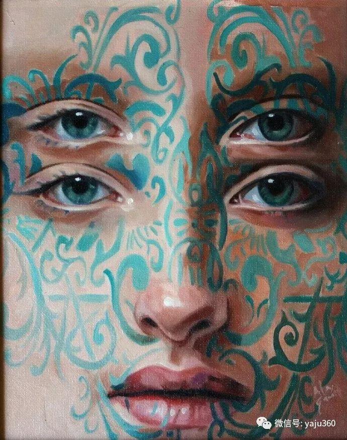 多彩重叠的肖像 Alex Garant插图73