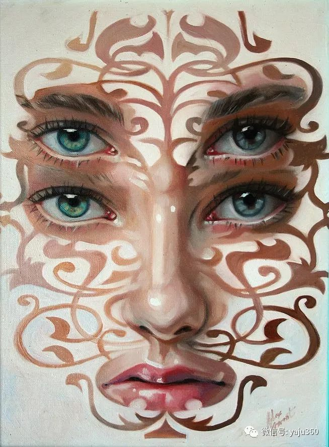 多彩重叠的肖像 Alex Garant插图75