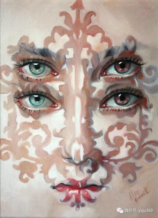 多彩重叠的肖像 Alex Garant插图77