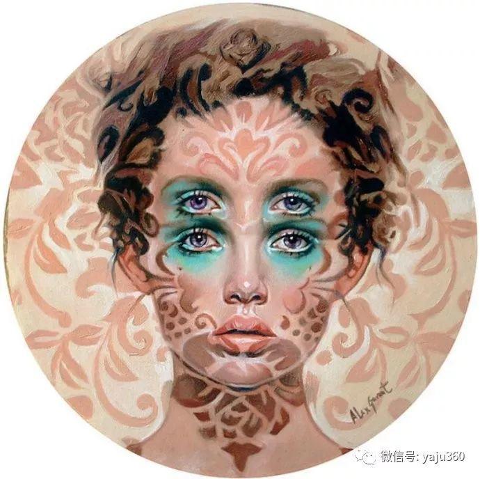 多彩重叠的肖像 Alex Garant插图81