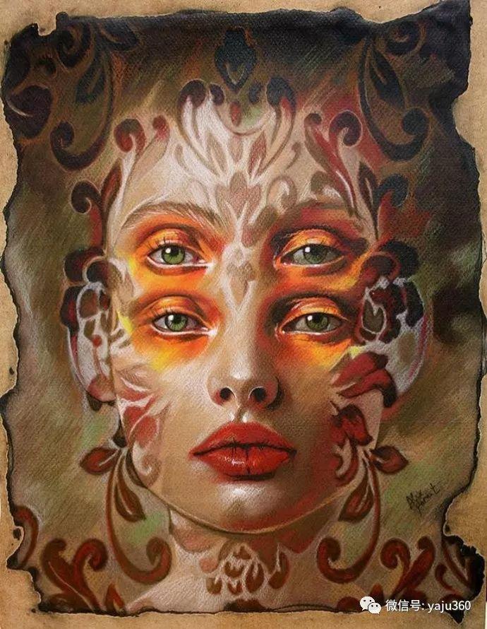 多彩重叠的肖像 Alex Garant插图83