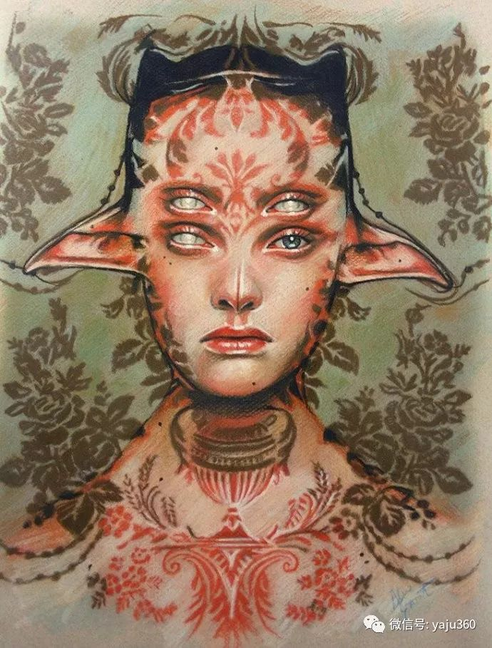 多彩重叠的肖像 Alex Garant插图85