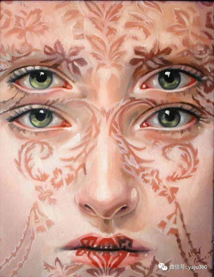 多彩重叠的肖像 Alex Garant插图87