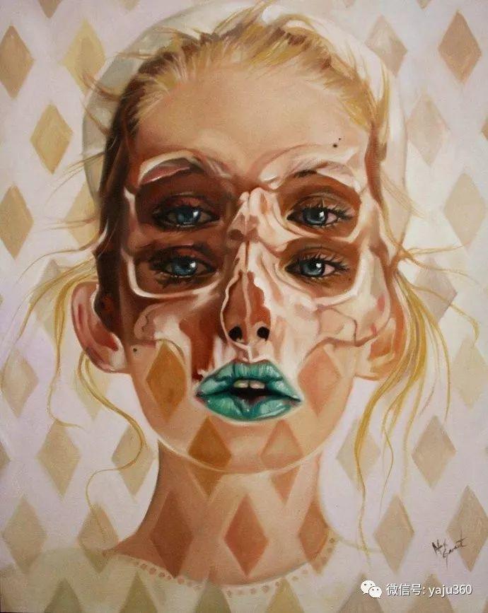多彩重叠的肖像 Alex Garant插图89