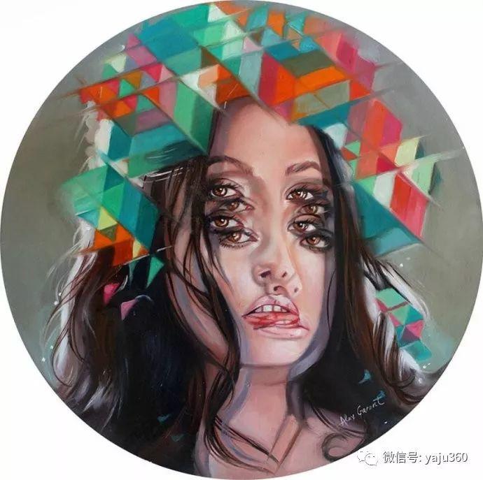 多彩重叠的肖像 Alex Garant插图91