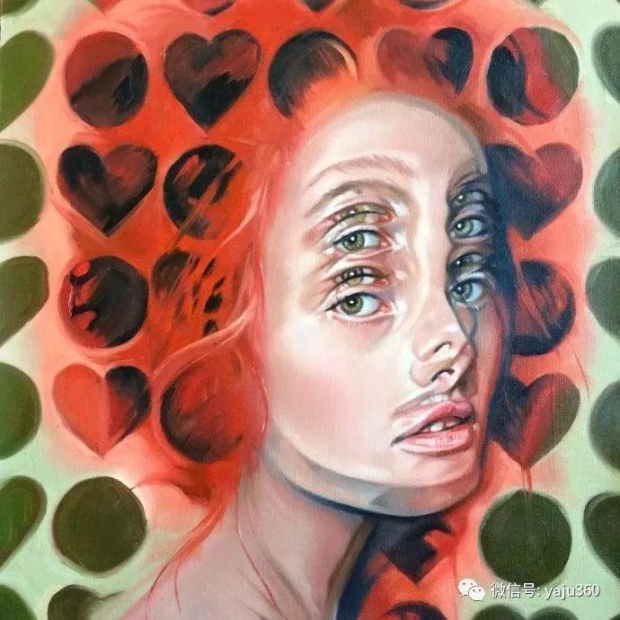 多彩重叠的肖像 Alex Garant插图93
