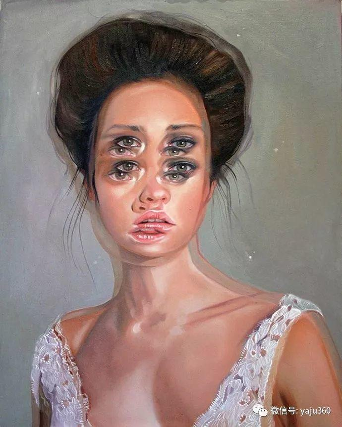 多彩重叠的肖像 Alex Garant插图95