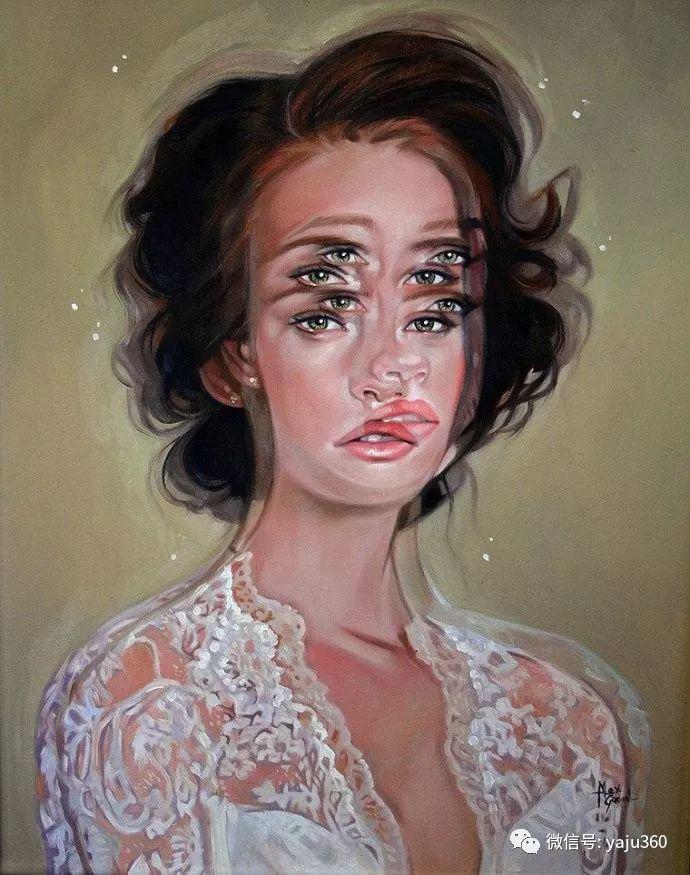 多彩重叠的肖像 Alex Garant插图97